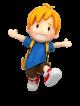 Logo Przedszkole 10 - Biegnący chłopczyk Janek
